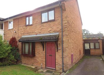 Thumbnail 3 bedroom end terrace house for sale in Jasmine Close, Thetford