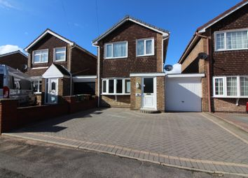 Thumbnail 3 bed detached house for sale in Broadmeadows Close, Willenhall