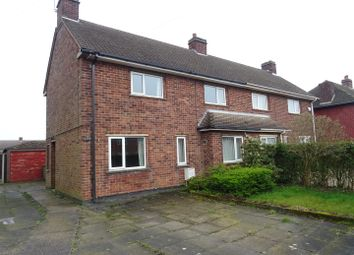 Thumbnail 3 bed semi-detached house for sale in Rowan Avenue, Coalville, Leicestershire