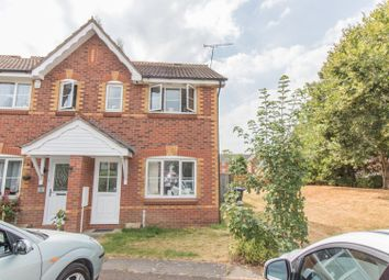 Thumbnail 2 bed end terrace house for sale in Bronte Close, Rugby