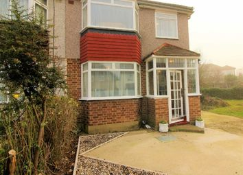 Thumbnail 3 bedroom semi-detached house to rent in Roundaway Road, Ilford