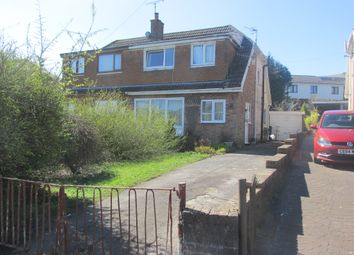 Thumbnail 3 bed semi-detached bungalow for sale in Chester Close, Heolgerrig, Merthyr Tydfil