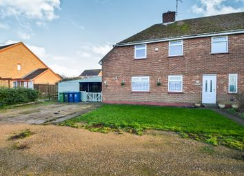 Thumbnail 3 bedroom semi-detached house for sale in Marriotts Close, Ramsey Mereside, Huntingdon