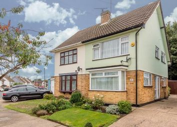 Thumbnail 2 bed semi-detached house for sale in Benfleet, Essex, Uk