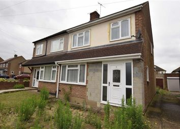 Thumbnail 3 bed semi-detached house for sale in Brockenhurst Drive, Stanford-Le-Hope, Essex