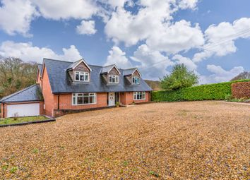 Thumbnail 4 bed detached house for sale in Newtown Road, Awbridge, Romsey