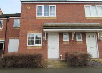 Thumbnail 3 bed town house to rent in Gorsey Close, Rugeley