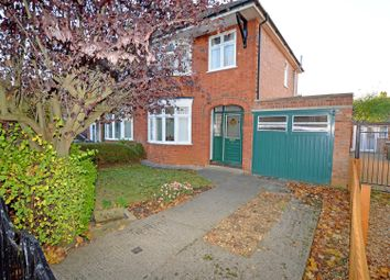 Thumbnail 3 bed semi-detached house for sale in Fane Road, Peterborough
