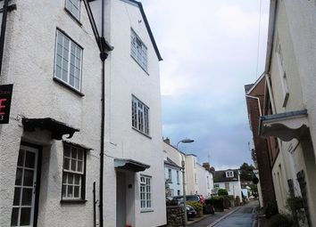 Thumbnail 3 bed end terrace house for sale in Higher Shapter Street, Topsham, Exeter