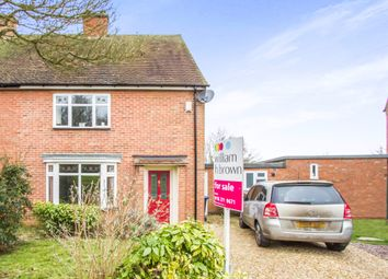 Thumbnail 3 bedroom semi-detached house for sale in St Cuthberts Avenue, Great Glen, Leicester