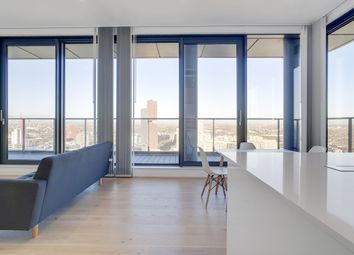 Thumbnail 1 bed flat to rent in Legacy Tower, Startford