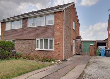 Thumbnail 3 bed semi-detached house for sale in Chelford Close, Penkridge, Stafford