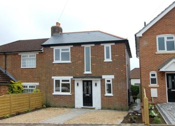 Thumbnail 3 bed semi-detached house for sale in Connaught Road, Aldershot