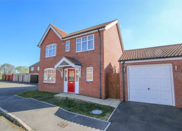 Thumbnail 4 bed detached house for sale in Lapwing Close, Market Rasen