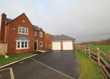 Thumbnail 4 bed detached house for sale in Central Park Road, Lostock Hall, Preston
