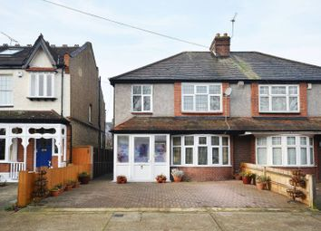 Thumbnail 3 bed semi-detached house for sale in Hoppingwood Avenue, New Malden