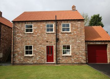 Thumbnail 4 bed detached house for sale in Plot 2 Manor Garth, School Lane, Holmpton, East Riding Of Yorkshire