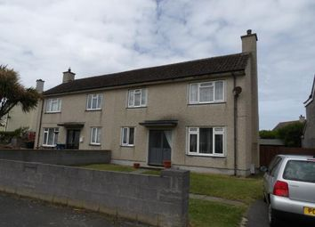 Thumbnail 2 bed semi-detached house for sale in Bryn Trewan, Caergeiliog, Holyhead, Sir Ynys Mon