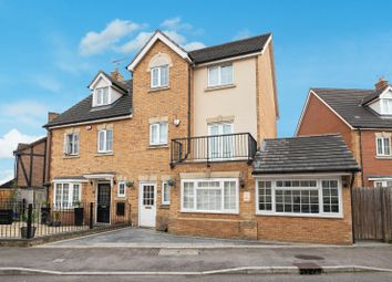 Thumbnail 4 bed semi-detached house for sale in Genas Close, Ilford, Essex