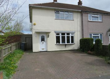 Thumbnail 2 bed semi-detached house for sale in Monmouth Road, Bentley, Walsall