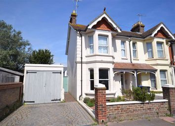Thumbnail 3 bed end terrace house for sale in Southfield Road, Broadwater, Worthing, West Sussex
