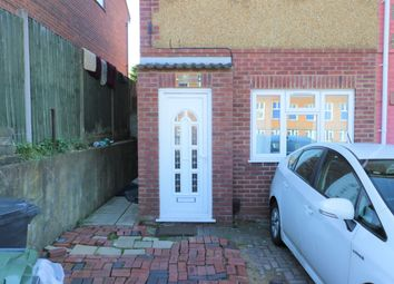 Thumbnail 1 bed semi-detached house to rent in Marsh Road, Luton