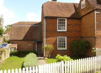 Thumbnail 3 bed semi-detached house to rent in 1 Copthall Cottage, The Hill, Cranbrook, Kent