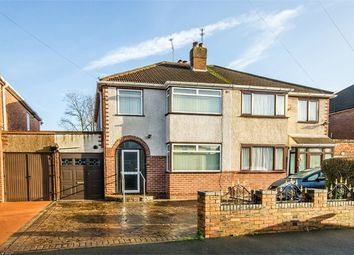 Thumbnail 3 bed semi-detached house for sale in Fairview Close, Wednesfield, Wolverhampton, West Midlands
