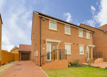 Thumbnail 3 bed semi-detached house for sale in Starling Close, West Bridgford, Nottinghamshire
