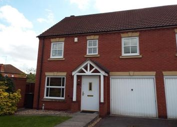 Thumbnail 3 bed semi-detached house to rent in Dey Croft, Chase Meadow Square, Warwick