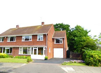 Thumbnail 4 bed semi-detached house for sale in St Denis Road, Selly Oak, Birmingham