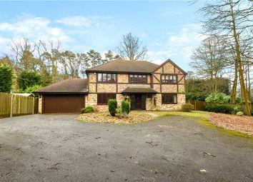 Thumbnail 5 bed detached house for sale in Church Lane, Ewshot, Farnham