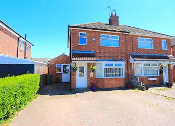 Thumbnail 2 bed semi-detached house for sale in Kings Drive, Leicester Forest East, Leicester