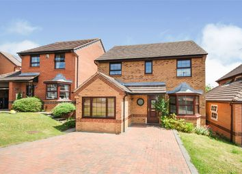 Thumbnail 5 bed detached house for sale in Rushy End, East Hunsbury, Northampton