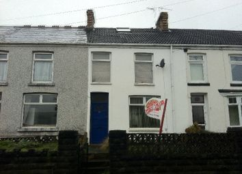 Thumbnail 3 bed terraced house to rent in Maesteg Road, Maesteg, Bridgend.