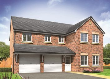 "Thumbnail 5 bed detached house for sale in ""The Fenchurch"" at Weir Hill, Preston Street, Shrewsbury"
