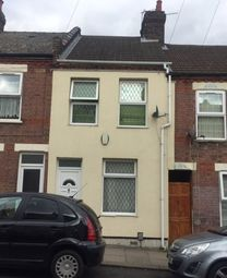 Thumbnail 2 bed terraced house to rent in Hampton Road, Luton