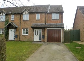 Thumbnail 3 bed end terrace house to rent in Chilton, Didcot