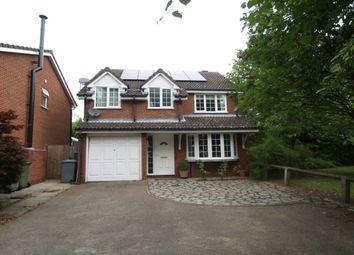 Thumbnail 4 bedroom detached house for sale in Cavalier Close, Dussindale, Norwich
