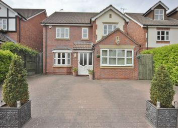 Thumbnail 4 bedroom detached house for sale in Briary Close, Heswall, Wirral