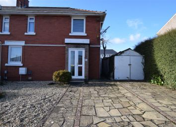 Thumbnail 3 bed semi-detached house to rent in Gadlys Road West, Barry
