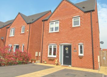 Thumbnail 3 bed detached house for sale in Wheatsheaf Way, Clowne, Chesterfield