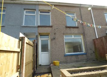 Thumbnail 3 bedroom terraced house to rent in Park Street, Nantymoel, Bridgend .
