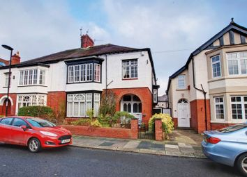 Thumbnail 4 bed semi-detached house for sale in Roseworth Avenue, Gosforth, Newcastle Upon Tyne