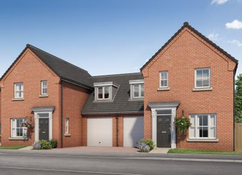 Thumbnail 3 bed link-detached house for sale in Water Lane, Little Plumstead, Norwich