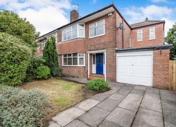 Thumbnail 4 bed semi-detached house for sale in Parrs Wood Road, Didsbury, Manchester, Gtr Manchester