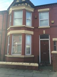 Thumbnail 4 bed terraced house for sale in Alderson Road, Liverpool