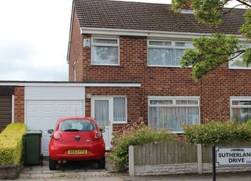 Thumbnail 3 bed semi-detached house to rent in Sutherland Drive, Eastham