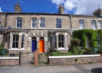 Thumbnail 3 bed terraced house to rent in Sandringham Street, York