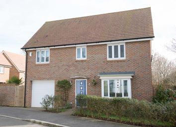 Thumbnail 4 bed detached house for sale in Skylark Way, Burgess Hill